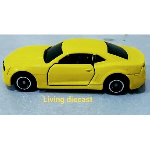Jual Diecast Miniatur Chevrolet Camaro Tomica Reguler Yellow Color Dki Jakarta Living Die Cast Tokopedia