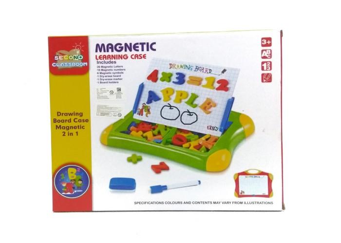 Foto Produk Mainan Edukasi Papan dan Huruf Magnet - Magnetic Learning Case dari Babyboo Mlg