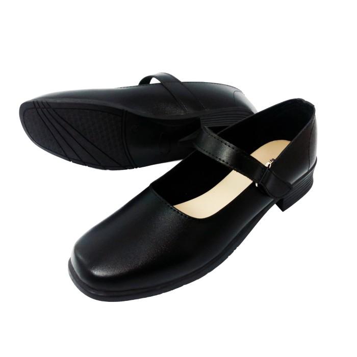 Jual Sepatu Pantofel Wanita Hitam Hak 3 Cm Sekolah Kantor Paskibra Gc Kab Nganjuk Aio Online Shop Tokopedia