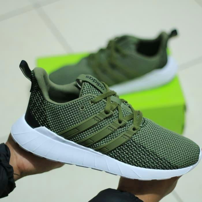 Jual adidas Questar Flow - dark green