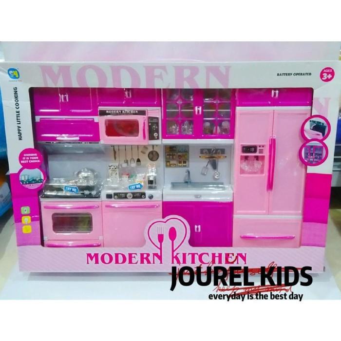Jual New Mainan Cewek Anak Perempuan My Modern Kitchen Set Barbie Frozen Jakarta Barat Patemilegshop Tokopedia