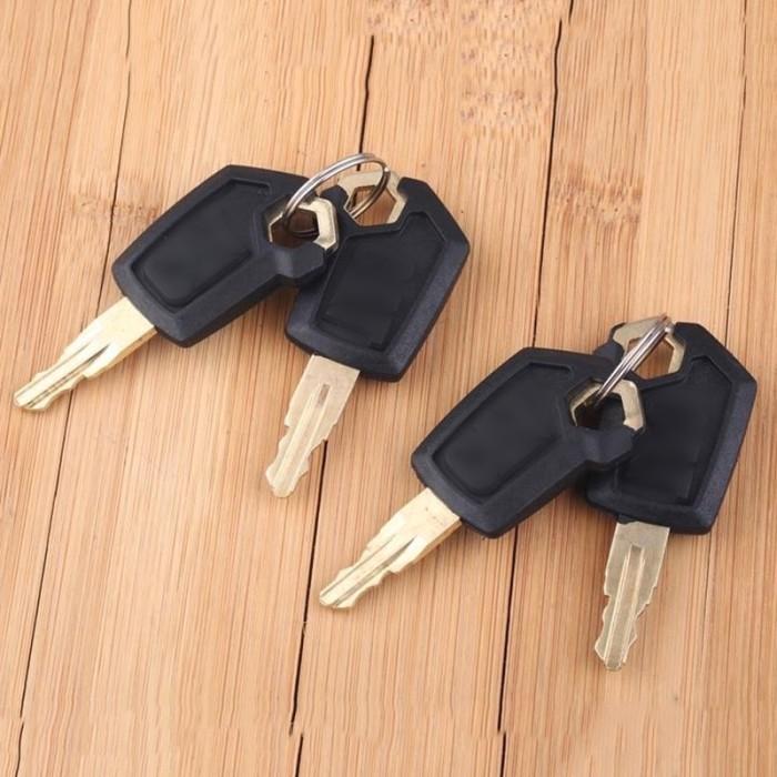 4 CAT Keys Caterpillar Heavy Equipment Ignition Key 5P8500 For Caterpillar