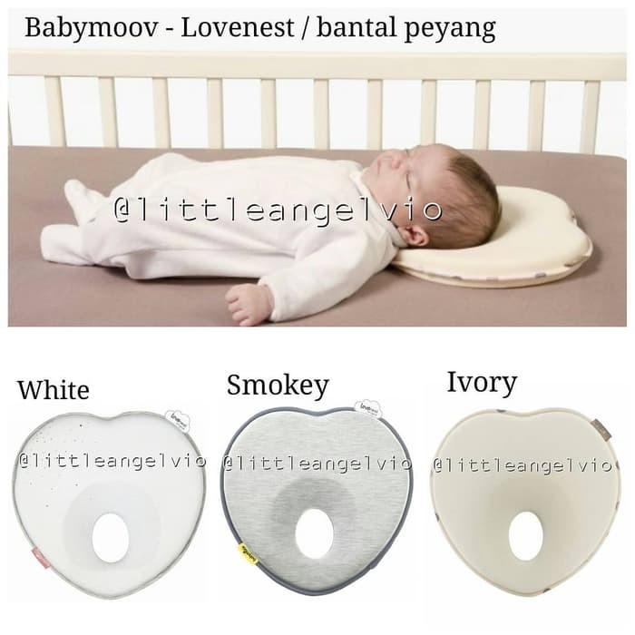 New Babymoov lovenest plus baby pillow positioner in fresh smokey from birth