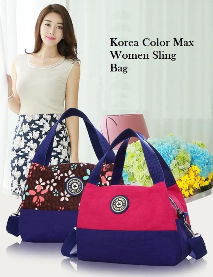 Jual TS74 Korea Color Max Women Sling Bag/ Tas Wanita ...