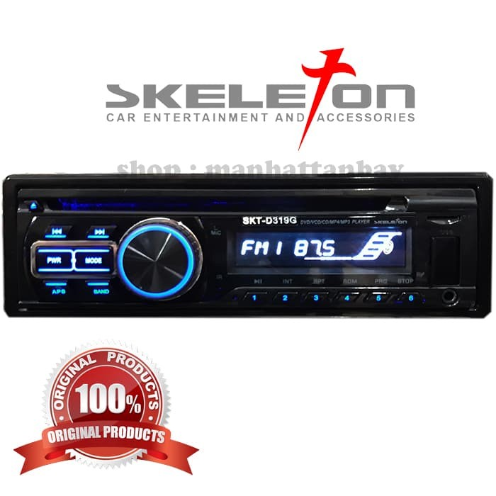 harga Tape mobil single din dvd player mp3 usb micro sd aux in bluetooth Tokopedia.com