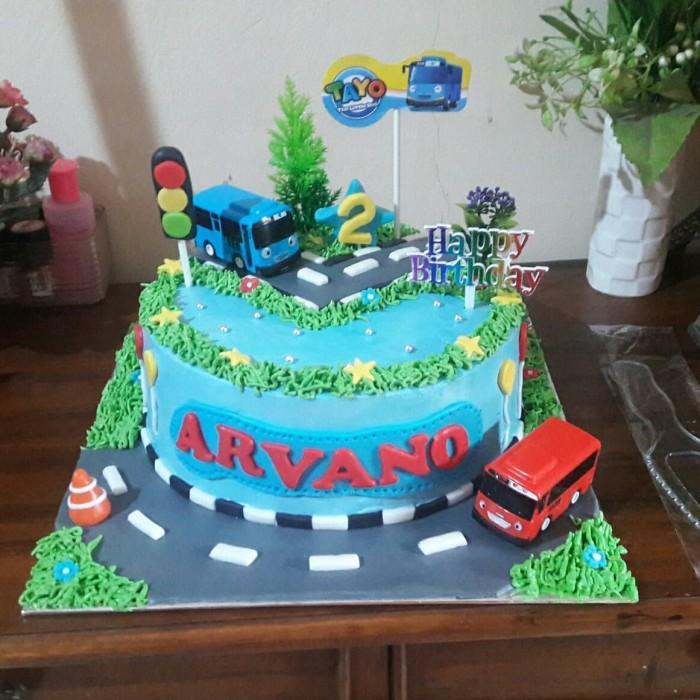 Jual Kue Tayo Cake Ultah Tayo Diameter 22cm Kota Tangerang Selatan Baju Alya Shop Tokopedia