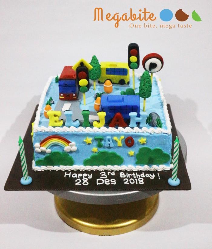 Jual Kue Ulang Tahun Tayo Cake Custom Enak Murah Jakarta Barat Megabite Tokopedia