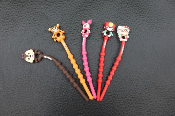 Jual Perapih/Pengikat Kabel Tanpa Velcro Bentuk Lucu Warna