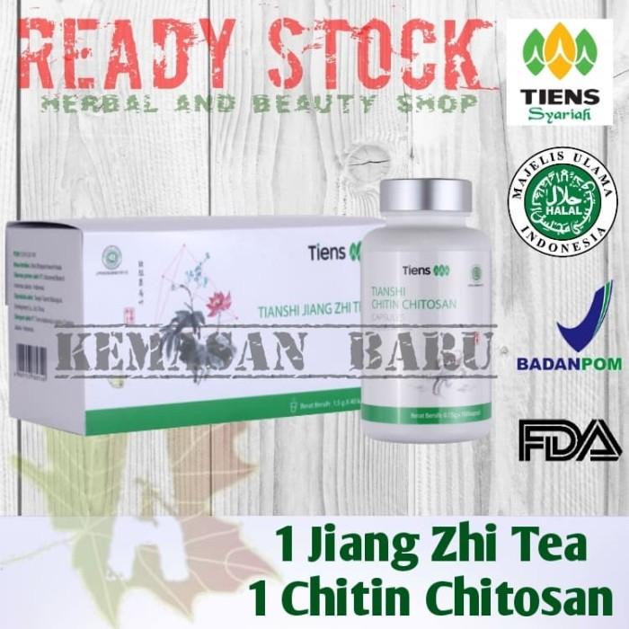 Foto Produk Paket Pelangsing Herbal (JZT+Chitosan) Penurun Berat Badan TIENS dari Herbal and Beauty Shop