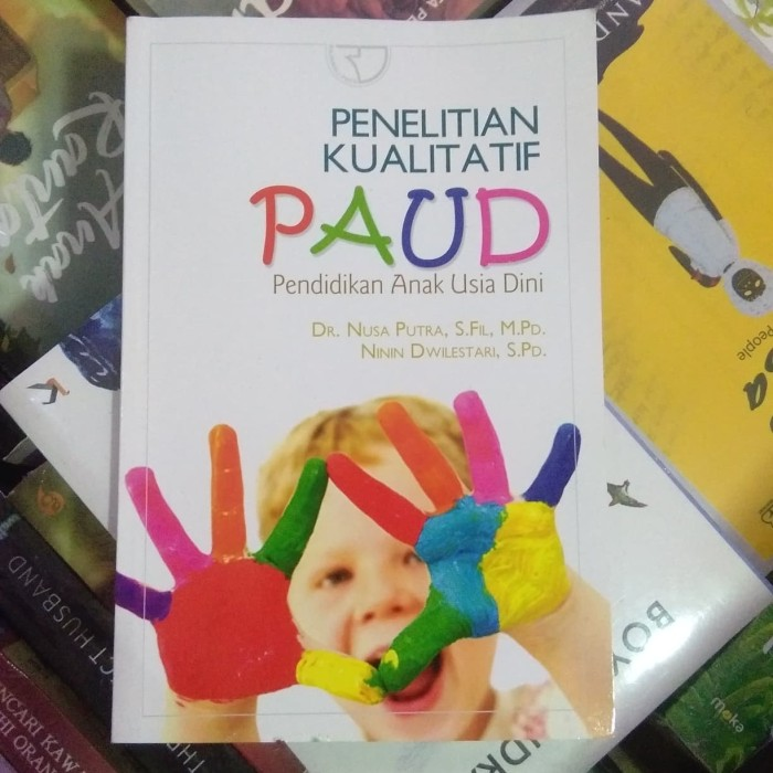 Jual Penelitian Kualitatif Paud Jakarta Selatan Bursah Buku