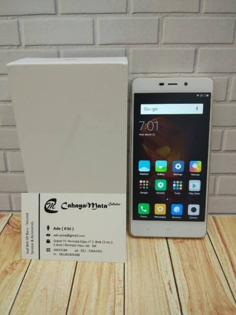 Jual Promo Diskon Handphone Tablet Xiaomi Redmi Note 4x Gold 3 32 Kota Semarang Naylakidz Shop Tokopedia