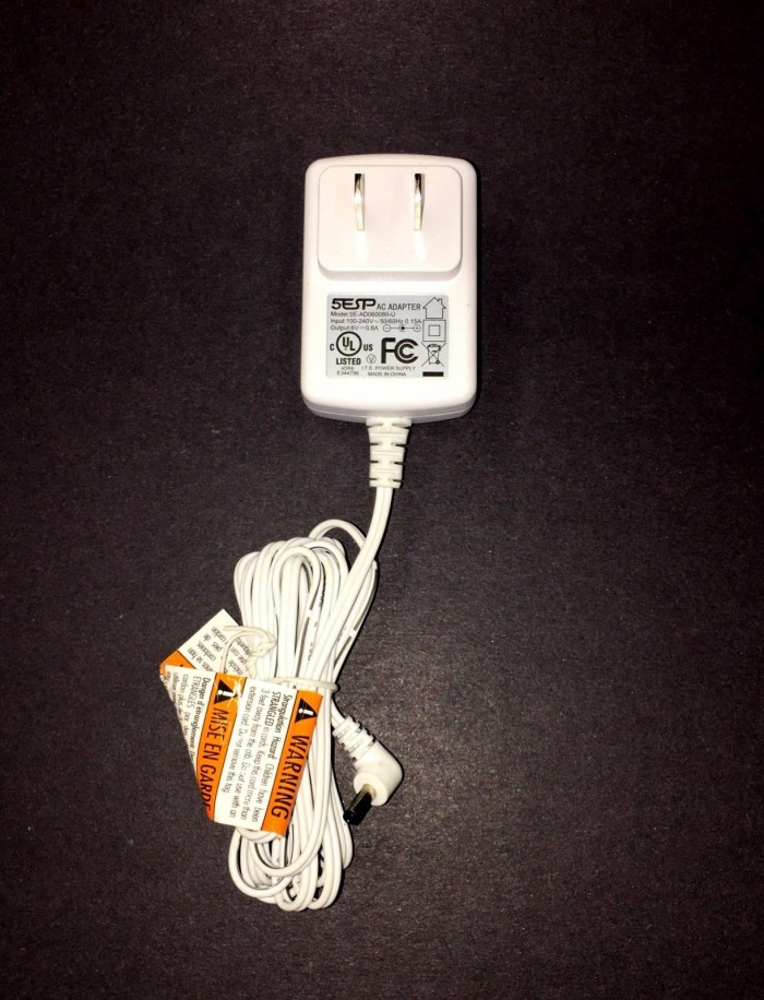 Lorex Baby Monitor BB2411 BB2425 BB2415 Replacement Charger Cord ORIGINAL