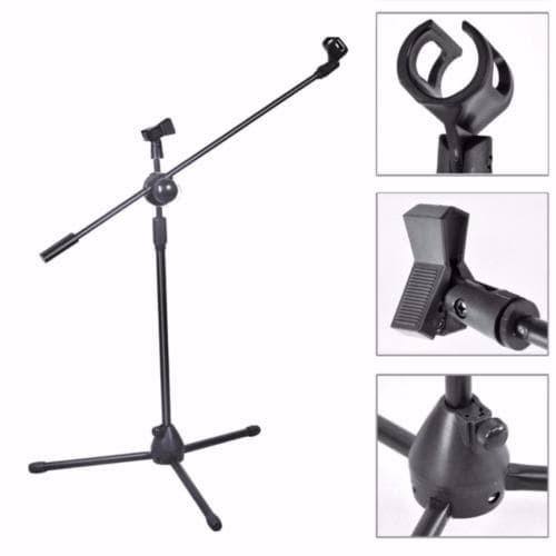 Foto Produk Tripod / Stand Mic Tiang / Lantai Dua Holder Mikrofon Microphone dari Edy Smuleans