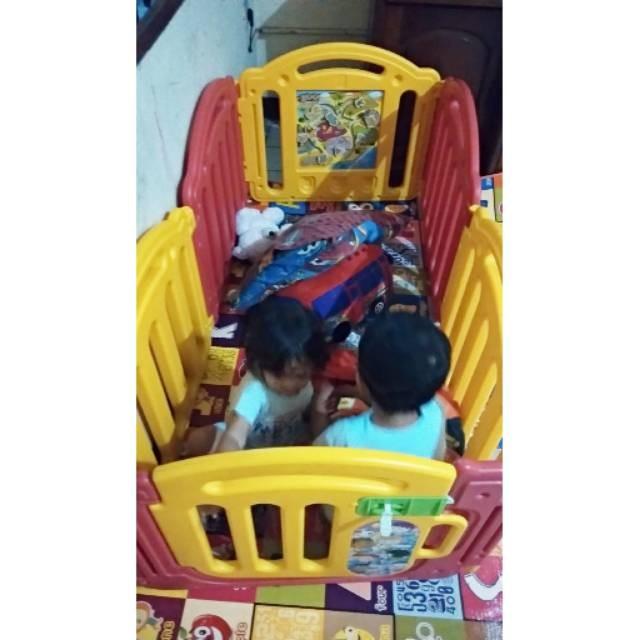 Jual Preloved Pagar Bayi Playpen Gendongan Ergo Koper Polo Expley Jakarta Pusat Jayaaraya Tokopedia