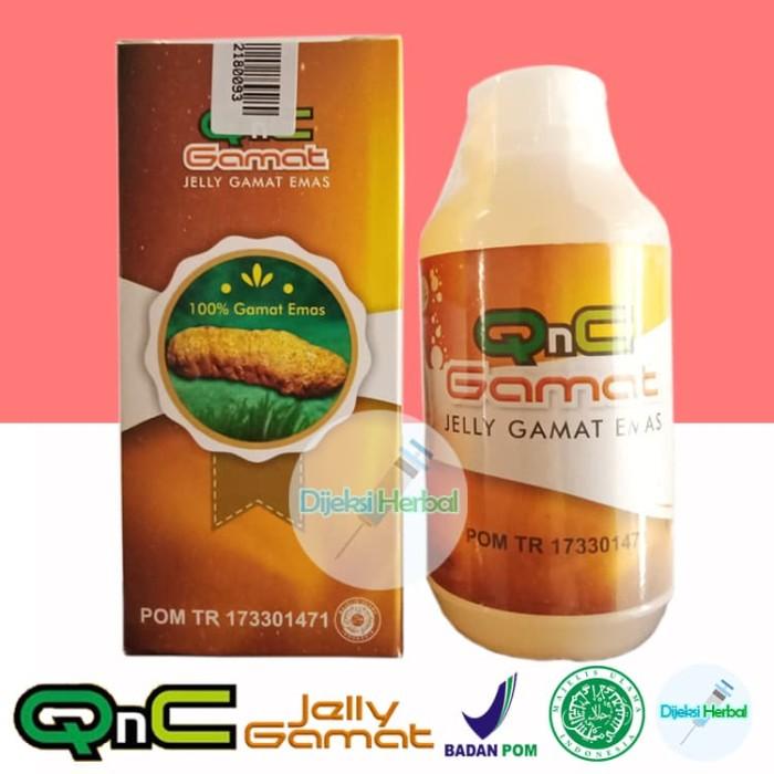 Foto Produk Obat Fistula Ani Paket 1 Bulan Pengobatan ( 5 Botol QNC jelly Gamat ) dari Dijeksi Herbal