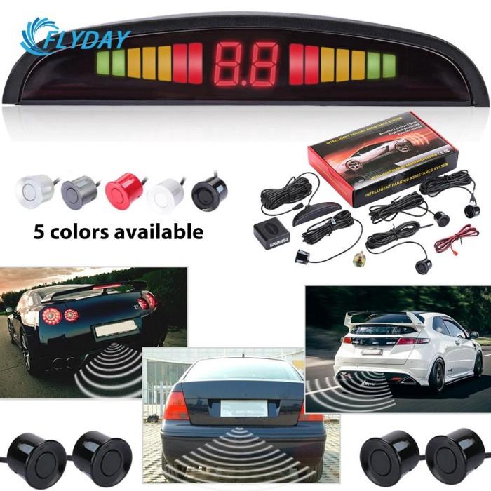 Jual [Import] FDY Car Radar Monitor System Car LED Parking Sensor Kit 12V -  DKI Jakarta - automobiles id | Tokopedia