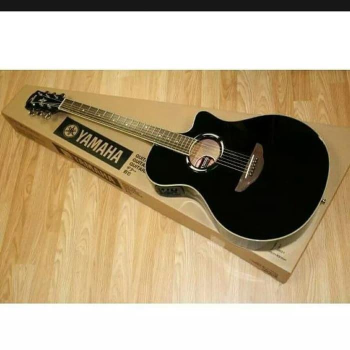 Foto Produk gitar akustik elektrik model yamaha apx 500i costome dari alira brusta