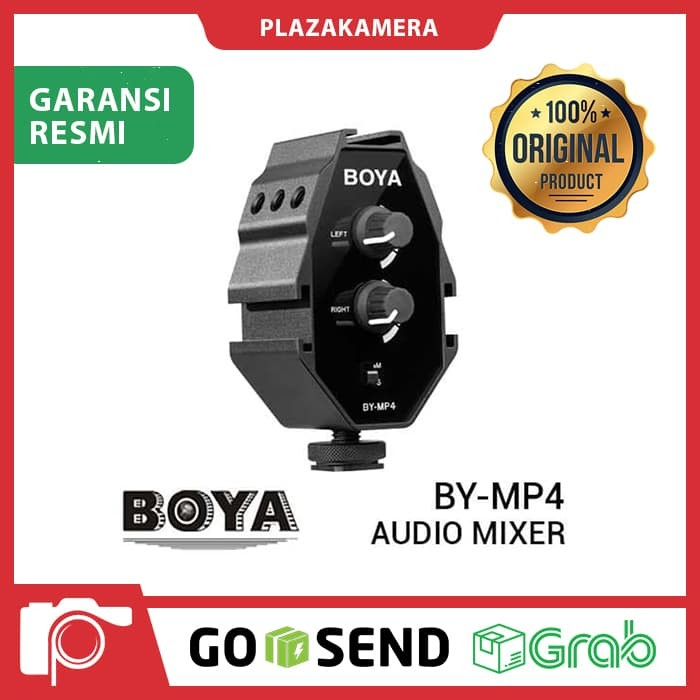 harga Boya by-mp4 audio mixer Tokopedia.com