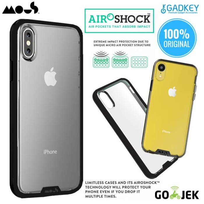 online retailer 6b86c 42420 Jual Case iPhone X / XS / XR / XS Max Case Mous Clarity Casing Original -  iPhone XR - DKI Jakarta - GadkeyCom | Tokopedia