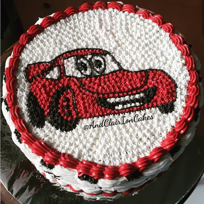Jual Kue Ulang Tahun Anak Birthday Tart Cars Mcqueen Butter Cream Kota Bandung Feed58 Tokopedia