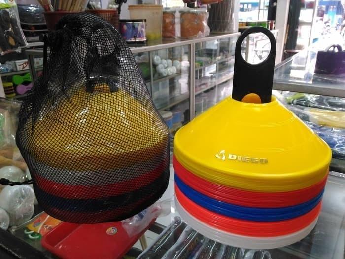 harga Cone mangkok olahraga latihan bola diego isi 50 free tas Tokopedia.com