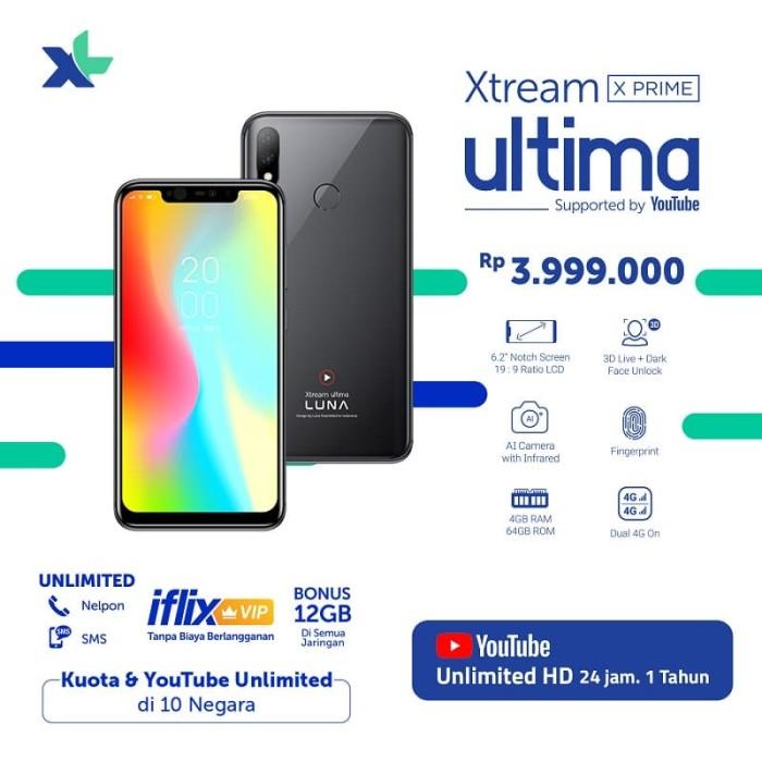 harga XL XTREAM ULTIMA X PRIME - Hitam Tokopedia.com