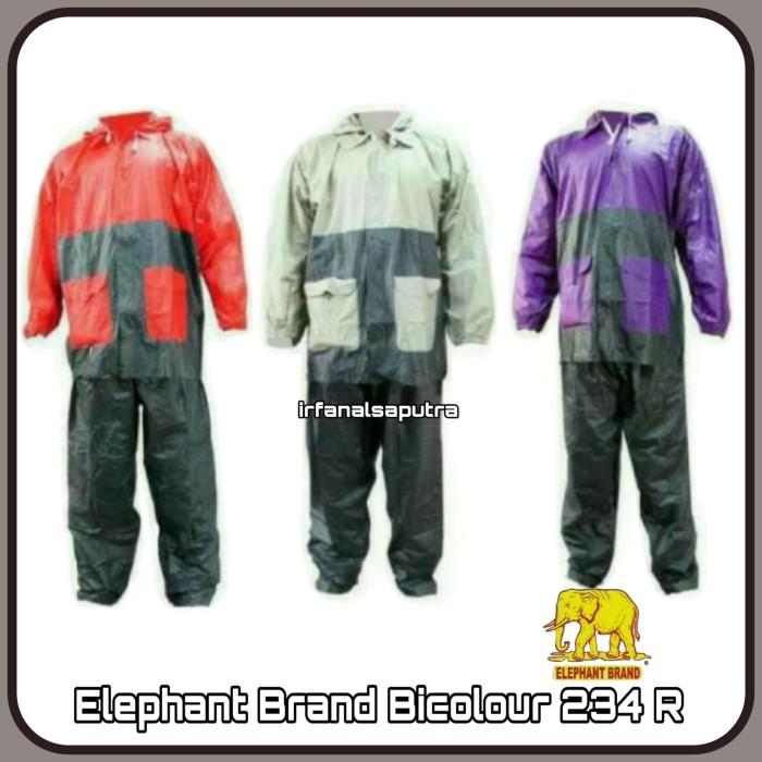 harga Jas hujan setelan jaket celana bicolour 234 r elephant brand gajah Tokopedia.com