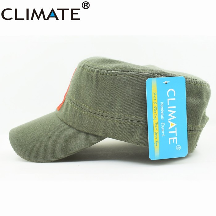 830ad65f Jual CLIMATE New Men Army Military Caps Chinese Chairman Mao Zedong ...
