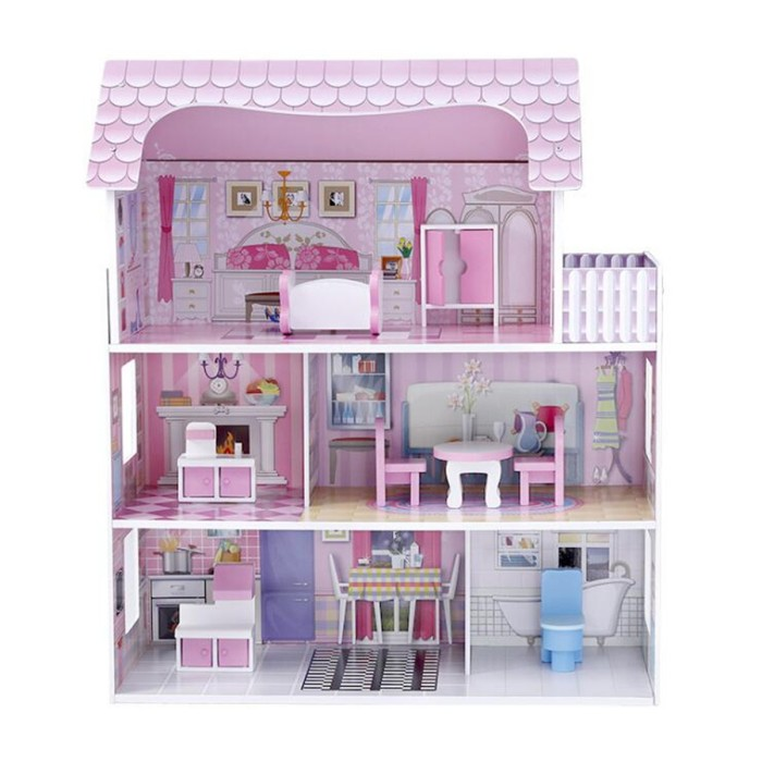 """/""""Chest/"""" Girls Pretend Play Doll Toy Game Arts//Craft Wooden Dollhouse Furniture"""