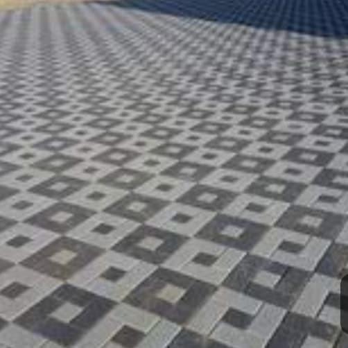 Jual paving warna multi block - Waru - Paving Genteng Beton  Tokopedia