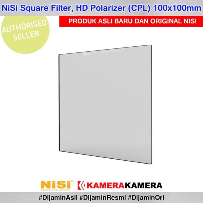 harga Nisi square filter hd polarizer (cpl) 100x100mm Tokopedia.com