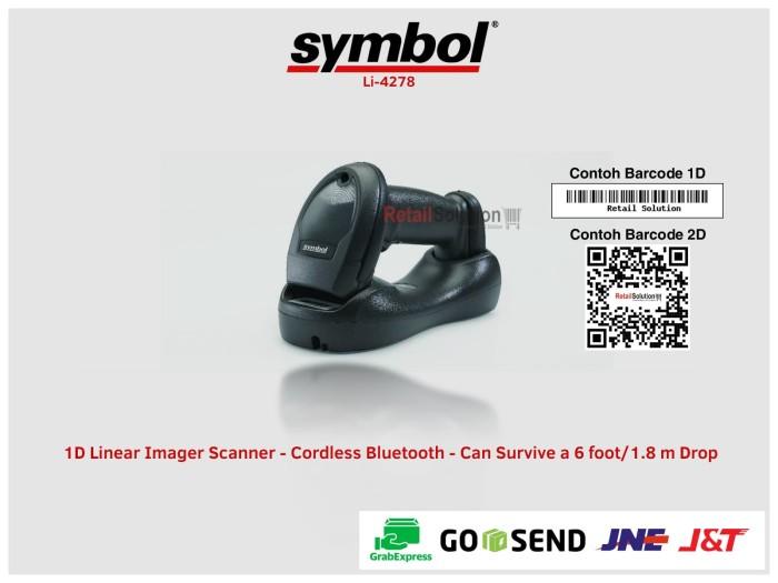 Jual SYMBOL Li-4278 1D Wireless Barcode Scanner - Kota Bandung - RETAIL  SOLUTION BEC   Tokopedia