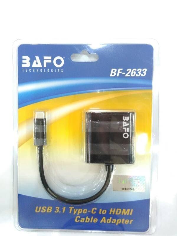 Foto Produk Kabel Type C USB To HDMI - Merk Bafo (BF-2633) dari Enter Komputer Official