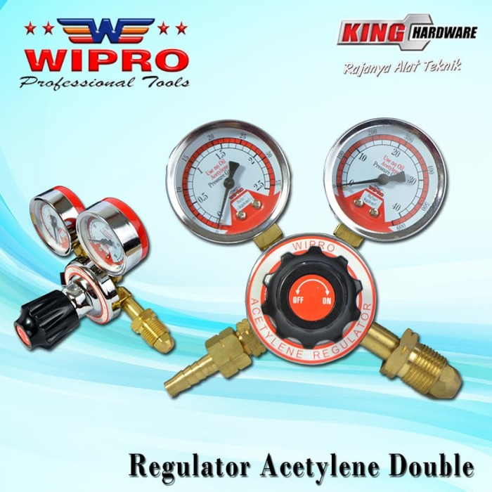 Foto Produk Regulator Acetylene Wipro dari KING HARDWARE