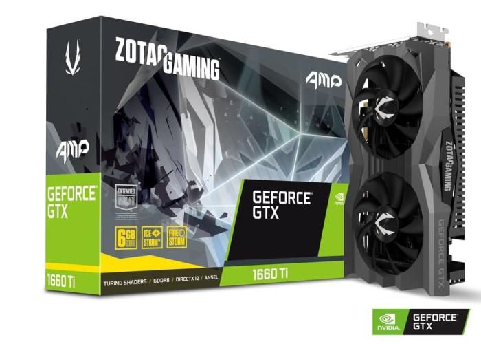 Foto Produk ZOTAC GAMING GeForce GTX 1660 Ti AMP 6GB GDDR6 dari Tetra Computer