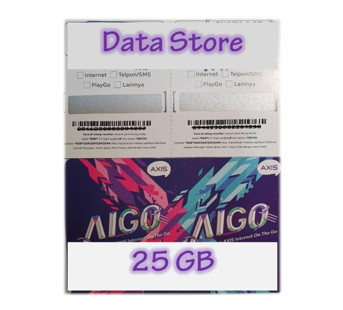 Jual Voucher Axis Aigo 25 Gb Kota Tangerang Selatan Data Store Cellular Tokopedia