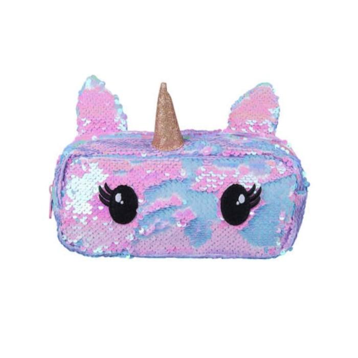 harga Pencil case sequin unicorn kotak pensil Tokopedia.com