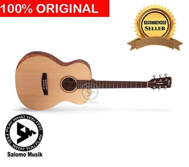 harga Gitar akustik original cort luce bevel cut Tokopedia.com