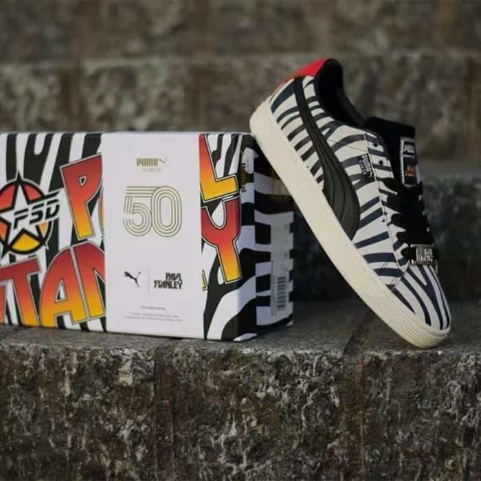 promo code 8865e 20e88 Jual Sepatu sneaker Puma Suede classic x Paul Stanley - 36628801 Original -  DKI Jakarta - new lapak original   Tokopedia
