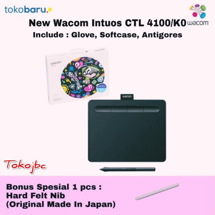 Jual NEW Wacom Intuos CTL-4100 Digital Graphic Drawing Tablet 4096 Pressure  - DKI Jakarta - tokoJBC | Tokopedia