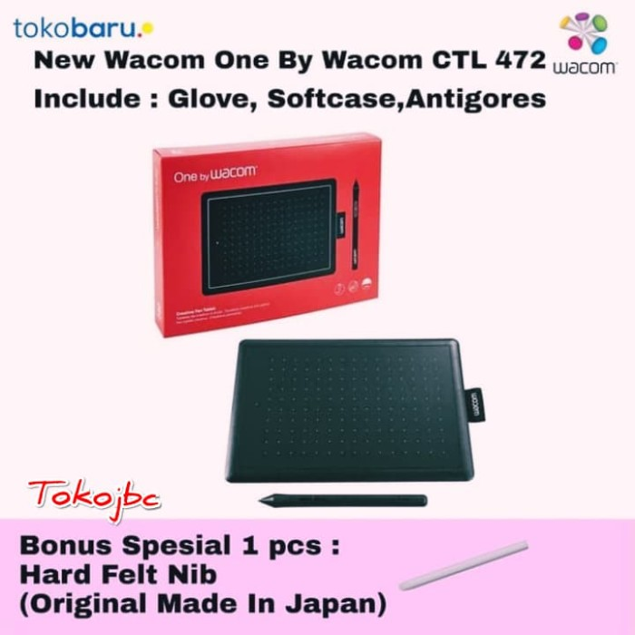 harga Wacom one small ctl-472 pen tablet alternatif wacom intuos Tokopedia.com