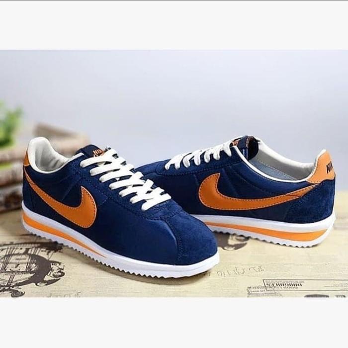 premium selection bd603 2a202 Jual nike cortez classic nylon navy orange - , - Kab. Tangerang -  raja_sneakersstore | Tokopedia