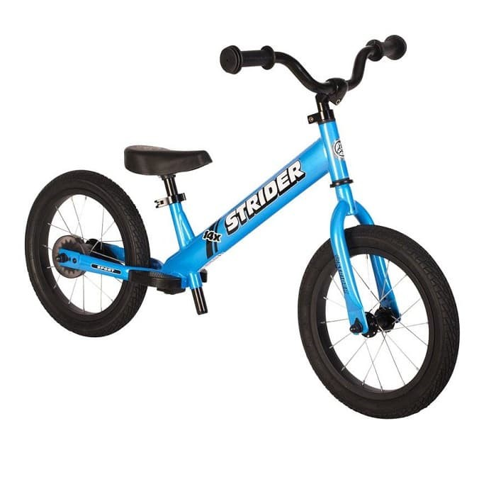harga Strider bike 14x sport blue sk-sb1-in-bl + pedal kit-balance bike Tokopedia.com