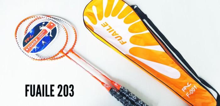 harga Raket badminton bulutangkis fuaile 203 orange set isi 2 Tokopedia.com