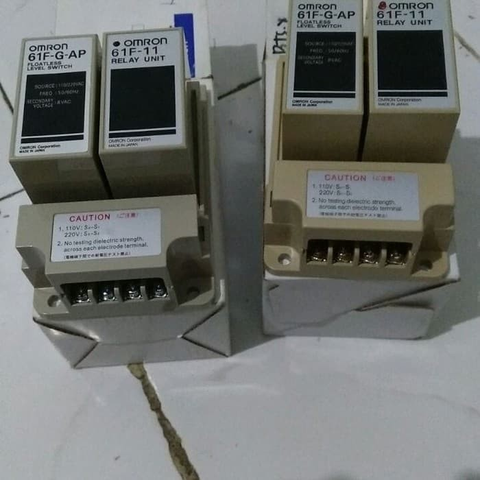 Jual Promo Floatless Level Switch Omron 61f