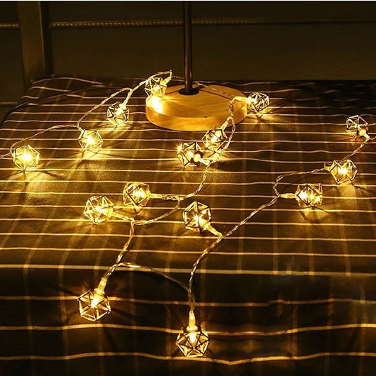 quality design b8e70 2b2c0 Jual Jual KCASA 10 LED Metal Polygon String Lights LED Fairy Lights - DKI  Jakarta - Blue Inspire | Tokopedia