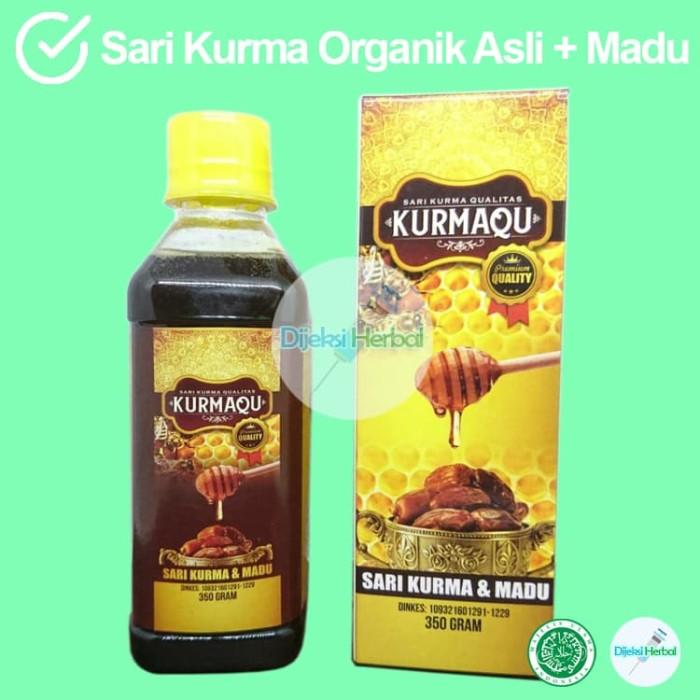 Foto Produk Asli Premium Sari Kurma KURMAQU Ori dari Dijeksi Herbal