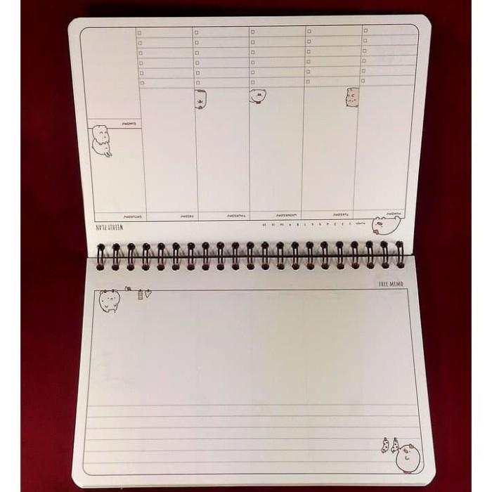 photo relating to Cute Weekly Planner called Jual Terlaris Weekly Planner / Buku Tulis Schedule Diary - Adorable Buddies - DKI Jakarta - Aghata Formal Keep Tokopedia