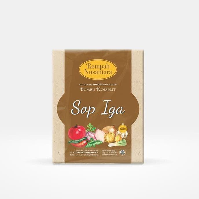 Foto Produk Hot Produk Rempah Nusantara Bumbu Sop Iga 60 Gram Berkualitas dari elifitriyzan shop