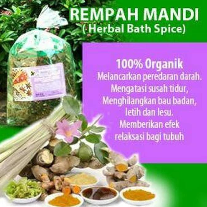 Foto Produk Best Seller Rempah Mandi / Mandi Rempah /Herbal Bath Spice Kirim Cepat dari elifitriyzan shop